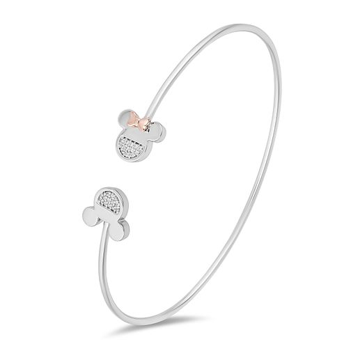 Mickey Mouse & Minnie Mouse Diamond Mismatch Bangle - Product number 1414240