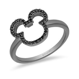 Mickey Mouse & Minnie Mouse Diamond Ring - Product number 1414429