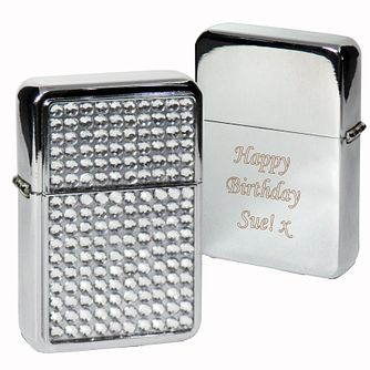 Engraved Diamante Lighter - Product number 1434551