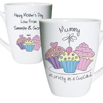 Personalised Cupcake Design Latte Mug - Product number 1434632