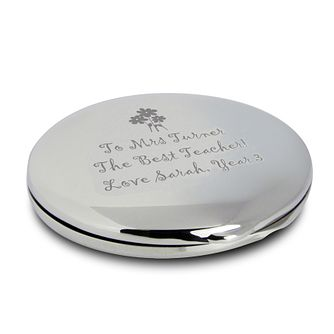 Engraved Flowers Round Compact - Product number 1435183