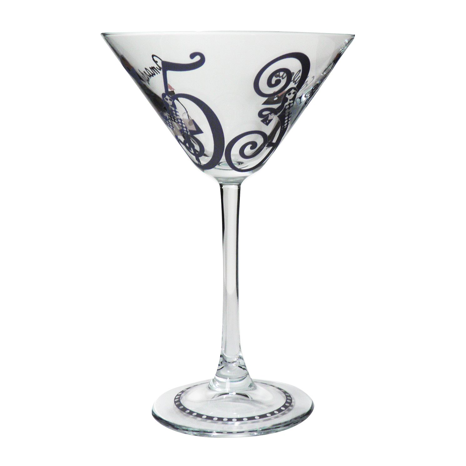 Personalised Fabulous Numbers Cocktail Glass - Product number 1437720