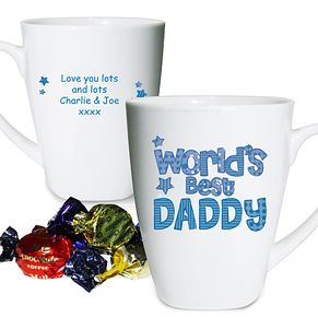 Personalised World's Best Latte Mug - Product number 1439367