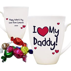 Personalised I Red Heart My Mug - Product number 1439383