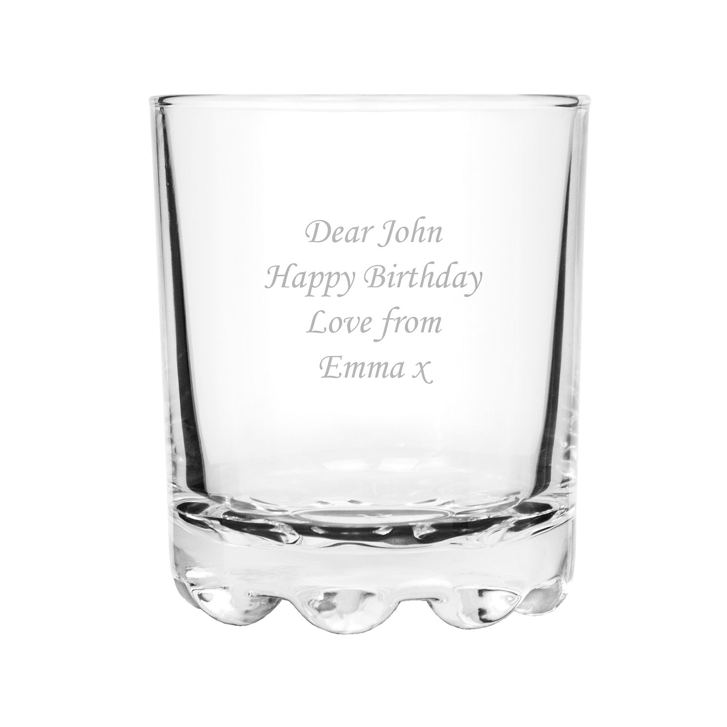 Personalised Stern Whisky Glass - Product number 1439391