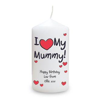 Personalised 'I Red Heart My' Candle - Product number 1439499