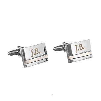 Engraved Mother of Pearl Cufflinks - Product number 1440330