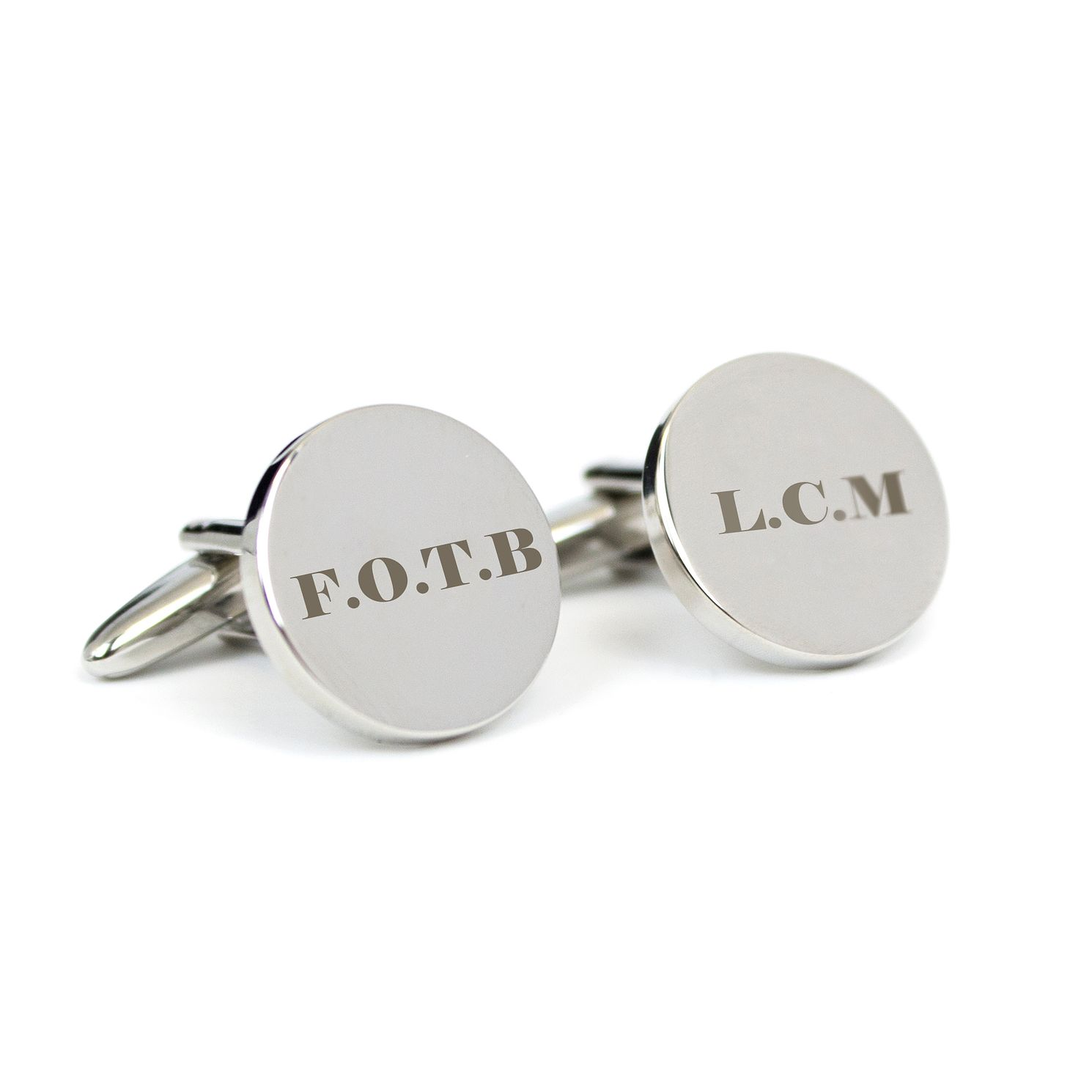 Engraved Father Of The Bride Cufflinks H Samuel