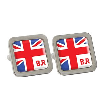 Personalised Union Jack Cufflinks - Product number 1440551