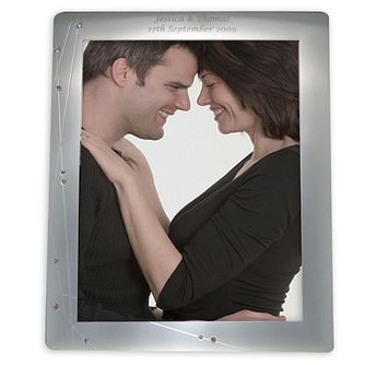 Personalised Engraved Diamante 10x8 frame - Product number 1443208