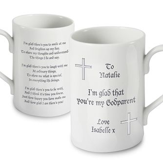 Personalised Godparent Traditional Mug - Product number 1444166