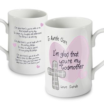 Personalised Godmother Mug - Product number 1444174