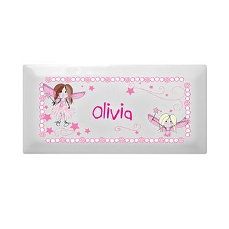 Personalised Pink Fairy Letter Door Plaque - Product number 1444476
