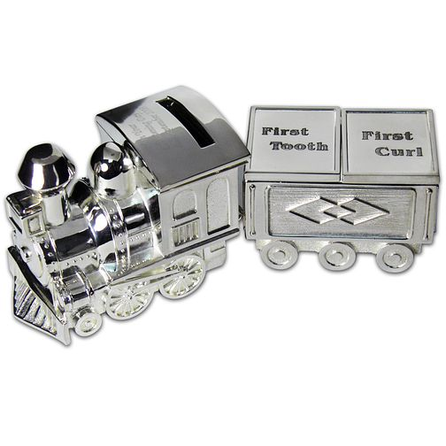 Personalised Engraved Train Tooth And Curl Set - Product number 1445820