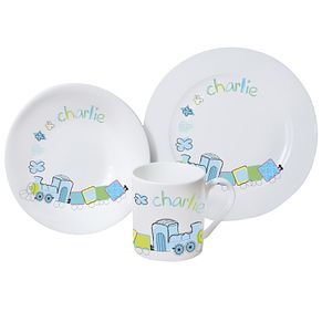 Personalised Patchwork Train Breakfast Set - Product number 1445871