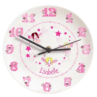 Personalised Fairy Letter Clock - Product number 1445901