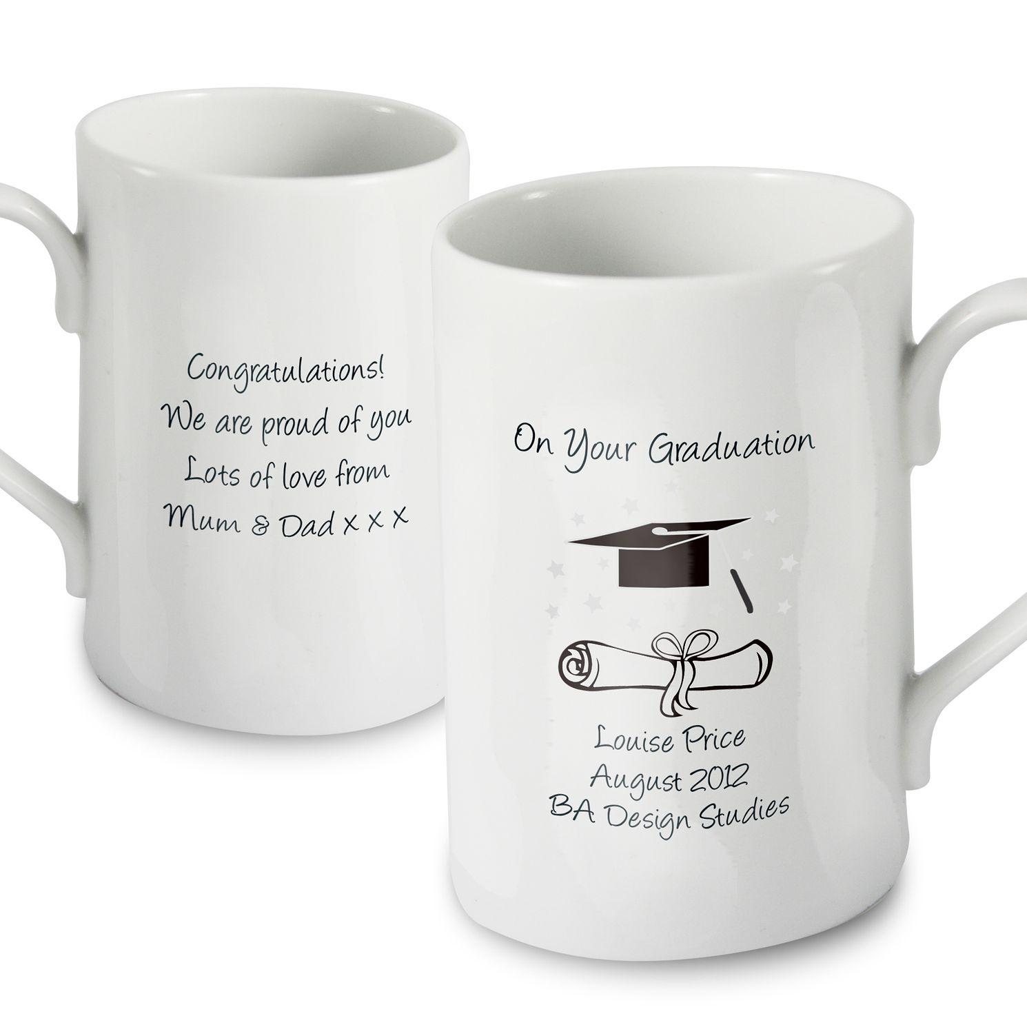 Personalised Graduation Mug - Product number 1447955
