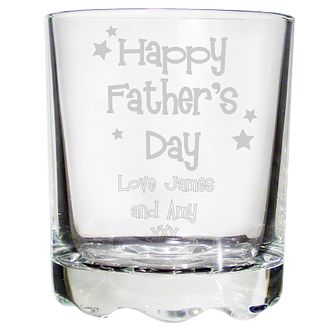Personalised Father's Day Stern Whisky Glass - Product number 1448064