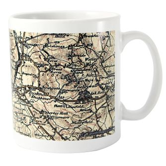 Personalised 1896 - 1904  Map Mug - Product number 1448552