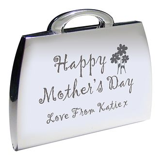 Engraved Mothers Day Handbag Compact - Product number 1448625