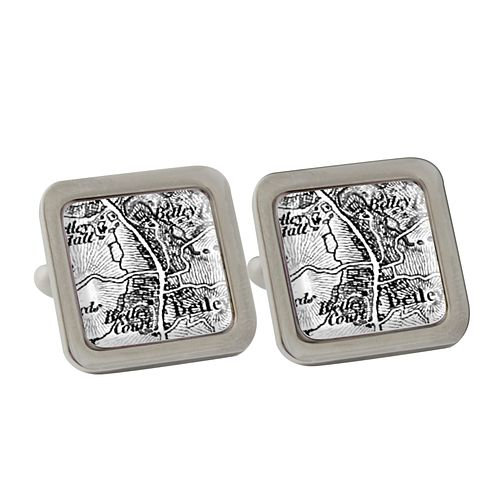 Personalised 1805 - 1874 Old Series Map Cufflinks - Product number 1450298