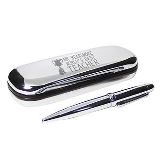 Engraved Trophy Pen and Box Gift Set - Product number 1450344