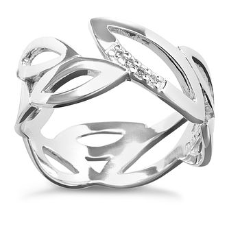 Hot Diamonds Sterling Silver Ring Size L - Product number 1457764