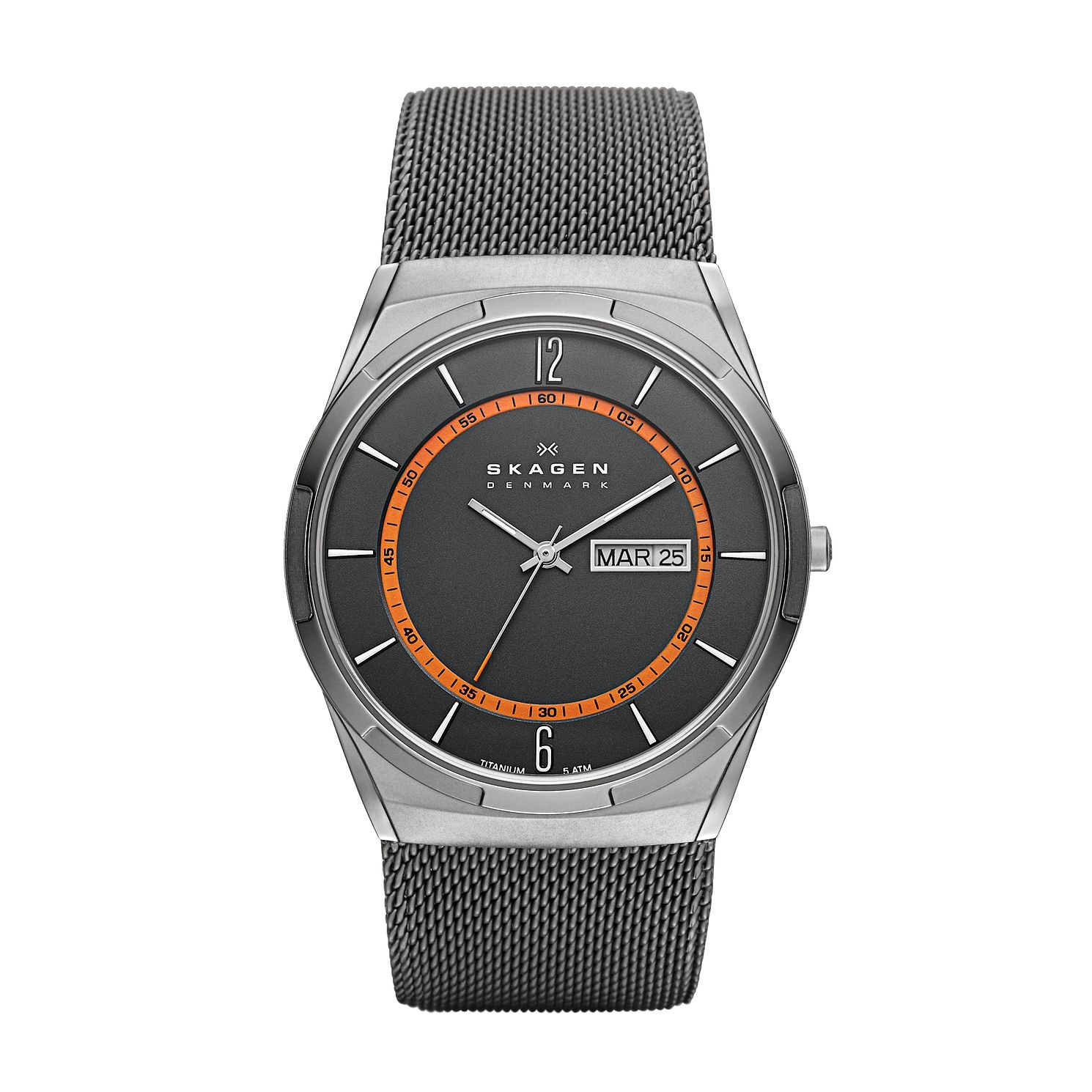 Skagen Melbye Men's Stainless Steel Mesh Bracelet Watch - Product number 1476483