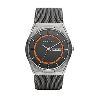 Skagen Melbye Men's Titanium Mesh Bracelet Watch - Product number 1476483