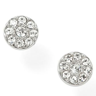 Fossil stainless steel pave crystal stud earrings - Product number 1478753