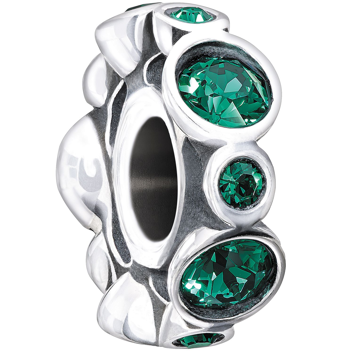 Chamilia Sterling Silver Crystal May Birthstone Bead - Product number 1479482