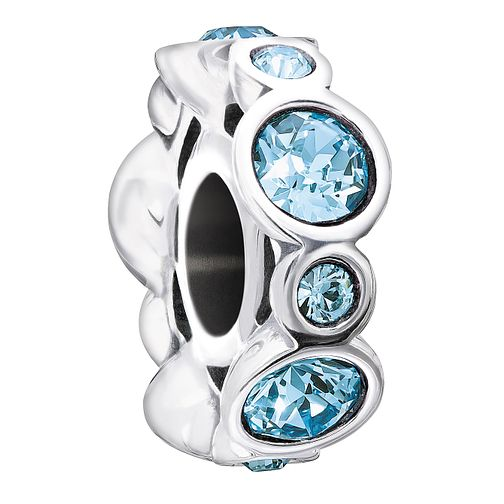 Chamilia Birthstone Jewels March Swarovski Crystal Charm - Product number 1485407