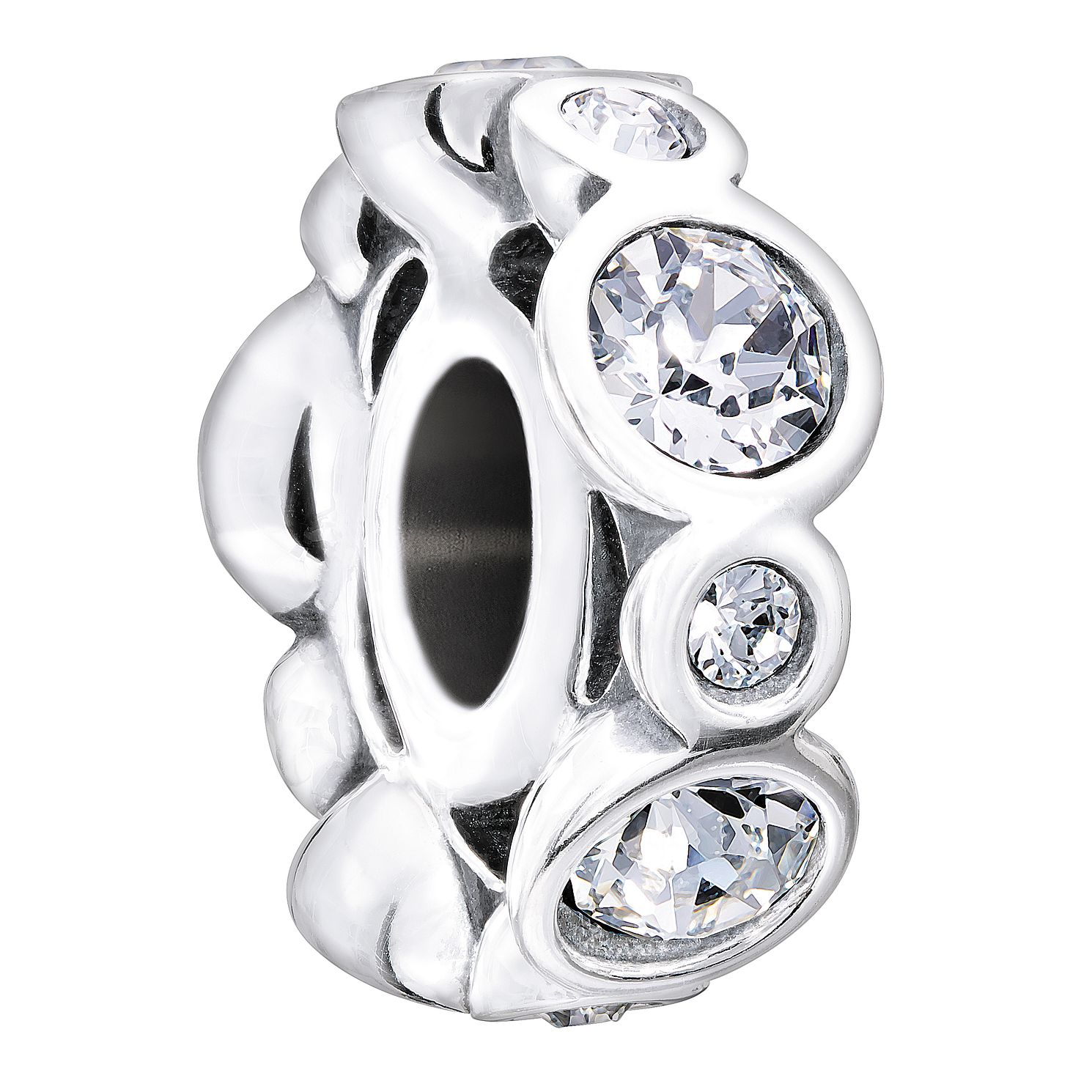 Chamilia Birthstone Jewels April Swarovski Crystal Charm - Product number 1485636