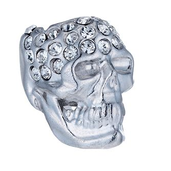 Special Memories Sterling Silver Crystal Set Skull Bead - Product number 1487965