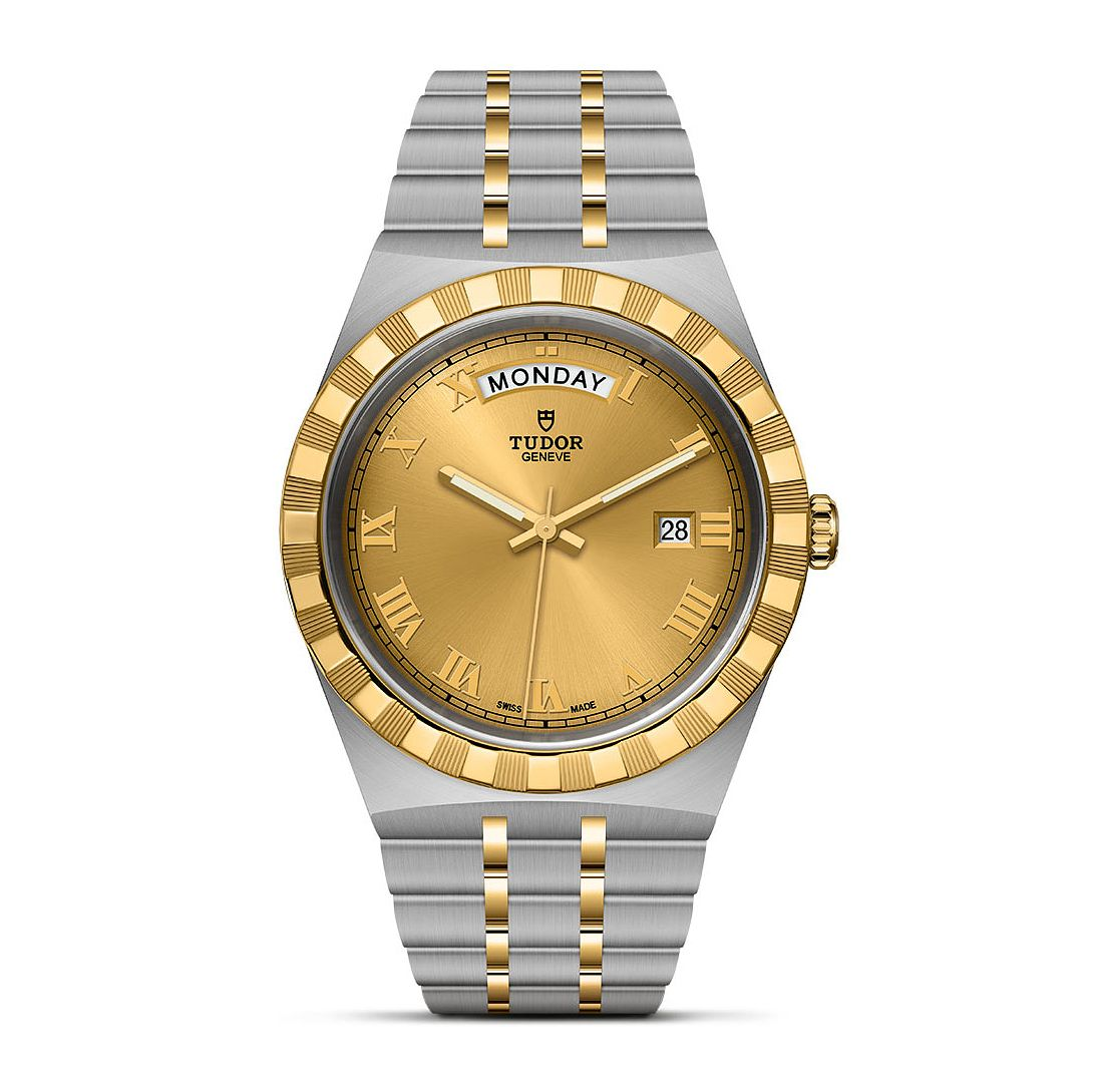 Tudor Royal Men's Two Tone Bracelet Watch - Product number 1518313