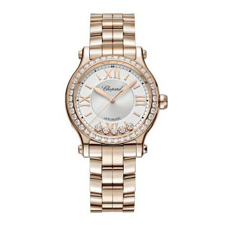 Chopard Happy Sport Ladies' 18ct Rose Gold Bracelet Watch - Product number 1527266
