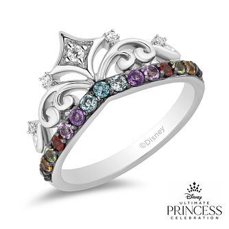 Enchanted Disney Fine Jewelry Diamond Multi-Stone Fancy Ring - Product number 1542257