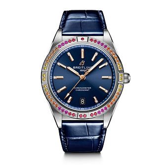 Breitling Chronomat South Sea Ladies' Blue Strap Watch - Product number 1547380