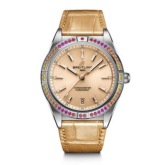 Breitling Chronomat South Sea Ladies' Beige Strap Watch - Product number 1547399