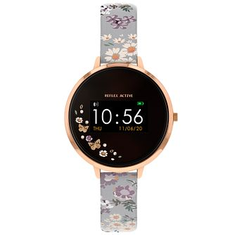 Reflex Active Series 3 Floral PU Strap Smart Watch - Product number 1550306