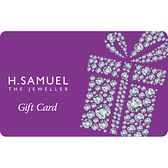 A Treat Yourself designed gift card