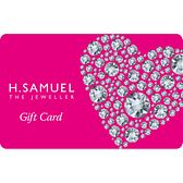 A With Love designed gift card