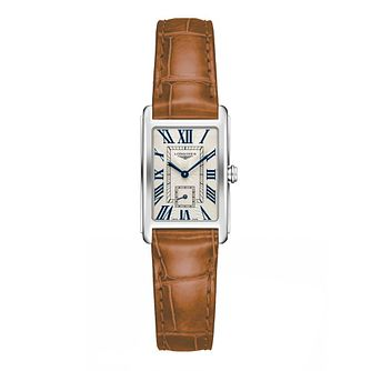 Longines DolceVita Ladies' Brown Leather Strap Watch - Product number 1552384