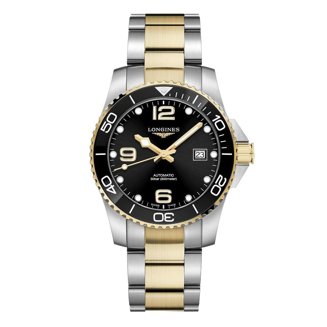 Longines HydroConquest Men's Two Tone Bracelet Watch - Product number 1552589