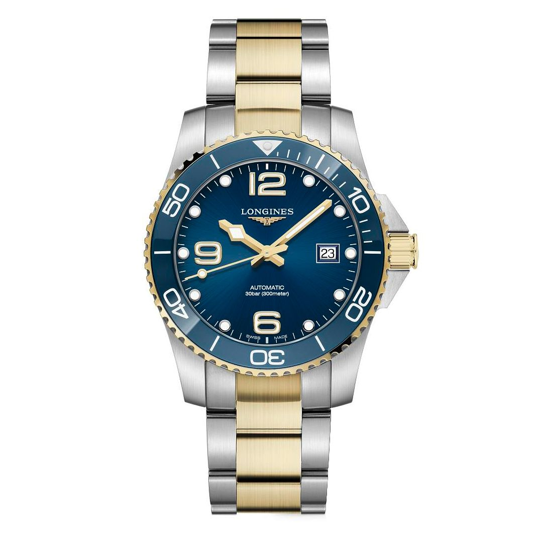 Longines HydroConquest Men's Two Tone Bracelet Watch - Product number 1552643