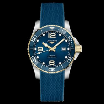 Longines HydroConquest Men's Blue Rubber Strap Watch - Product number 1552651