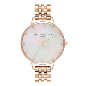 Olivia Burton Timeless Classic Rose Gold Tone Bracelet Watch - Product number 1565400
