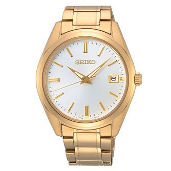 Seiko Conceptual Dress Men's Gold Tone Bracelet Watch - Product number 1585509