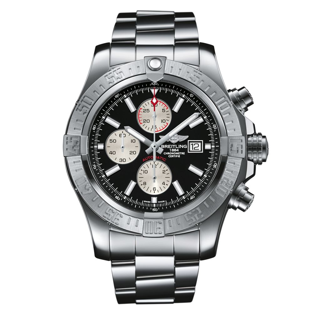 Breitling Super Avenger II Men's Steel Bracelet Watch - Product number 1591320