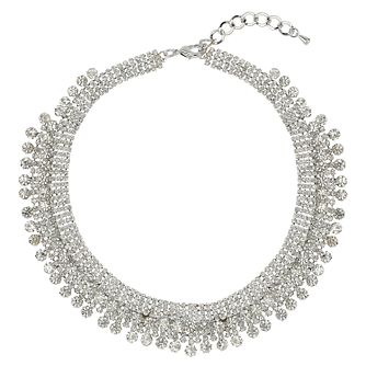 Mikey Silver Tone Crystal Necklace - Product number 1593420